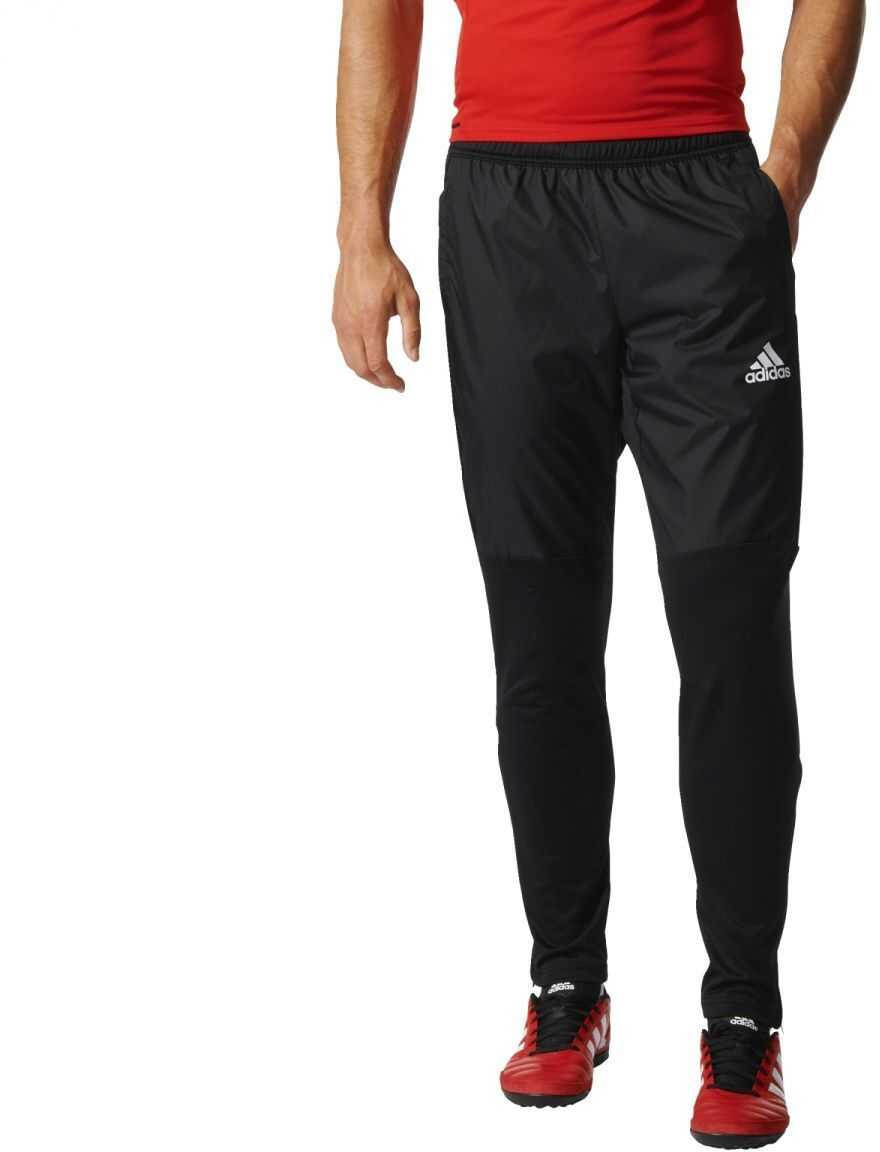 adidas TIRO17 WARM PNT BLACK/WHITE