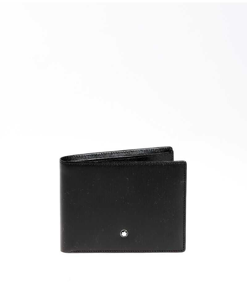 Montblanc Leather Wallet Black