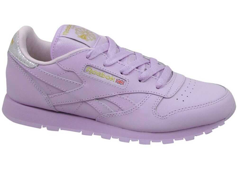Reebok Classic Leather Metallic Violete