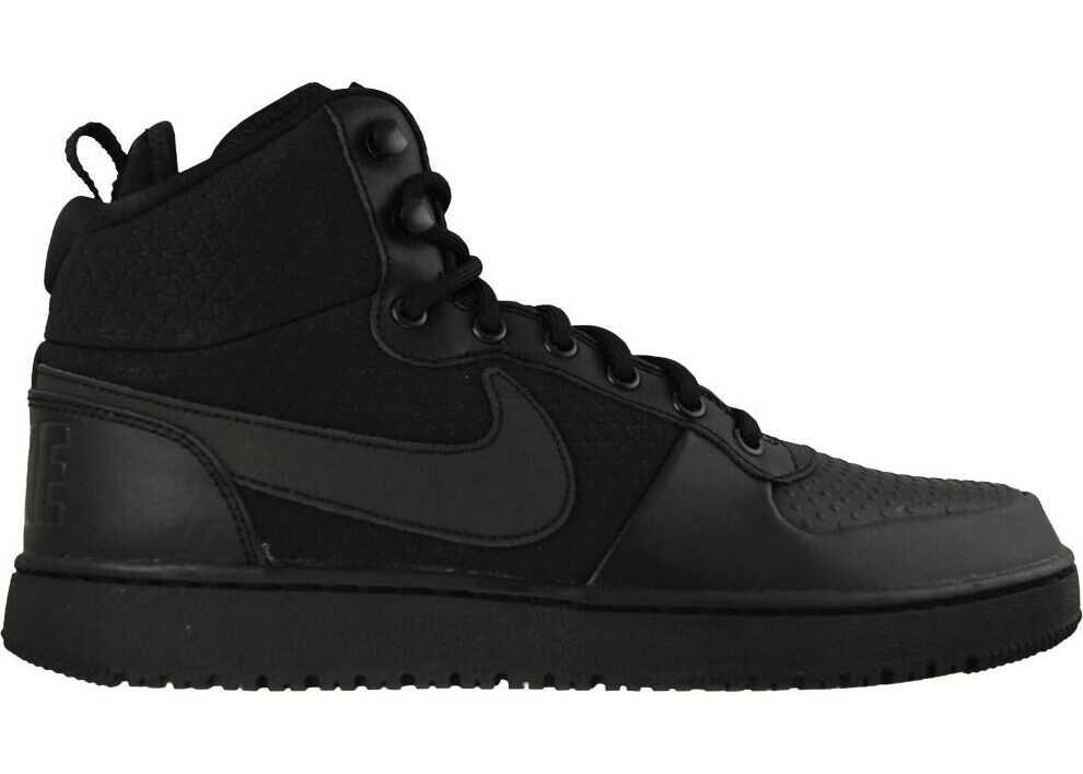 Nike Court Borough Mid Winter Negre