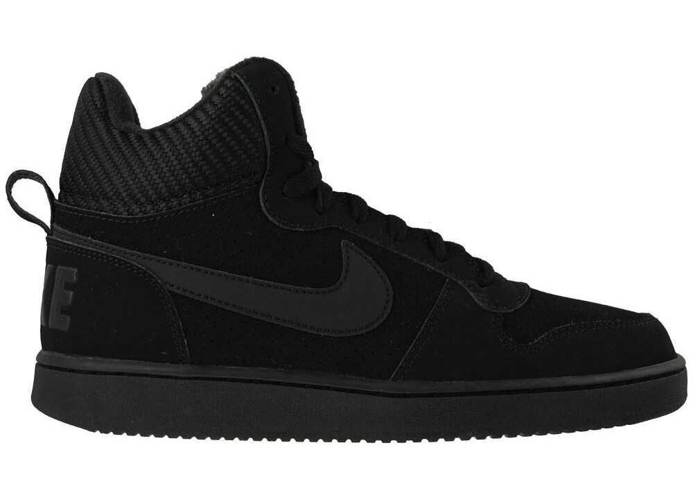 Nike Court Borough Mid SE Negre