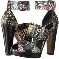 Pantofi cu Toc Alexander McQueen Sandal Pelle S.Cuoio