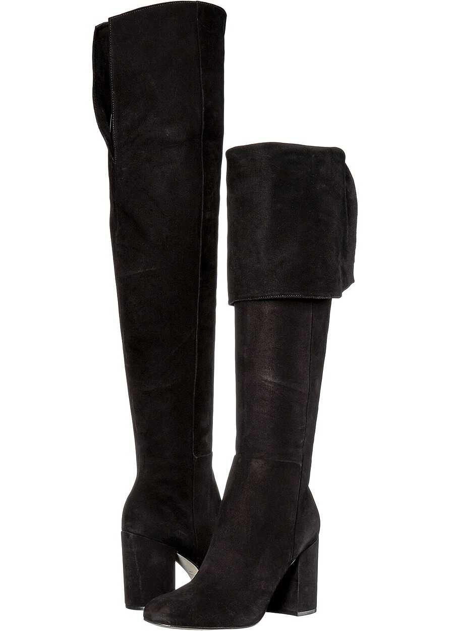 Massimo Matteo Tall Heel Boot Black