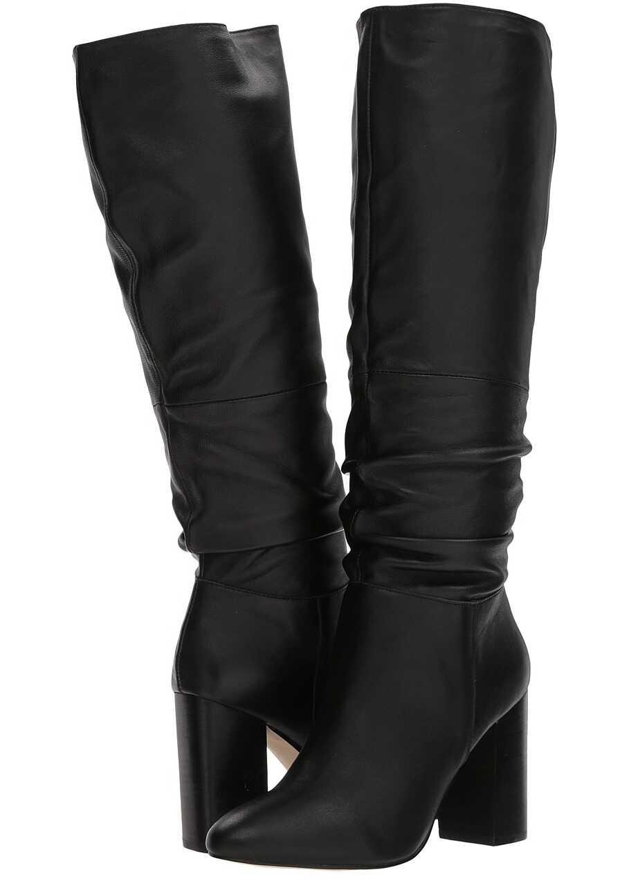 Steve Madden Faola Black Leather
