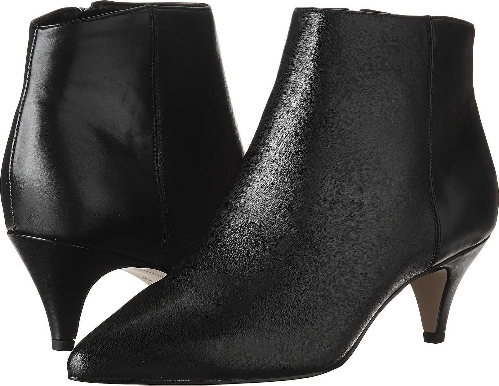 Sam Edelman Kinzey Black Modena Calf Leather/Dakota Nappa