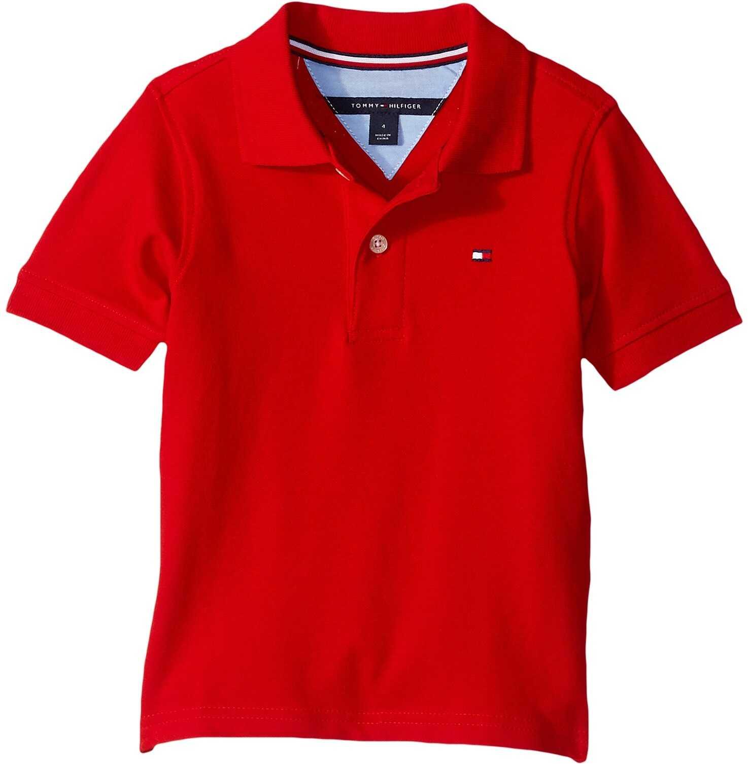 Tommy Hilfiger Kids Stretch Ivy Polo (Big Kids) Regal Red