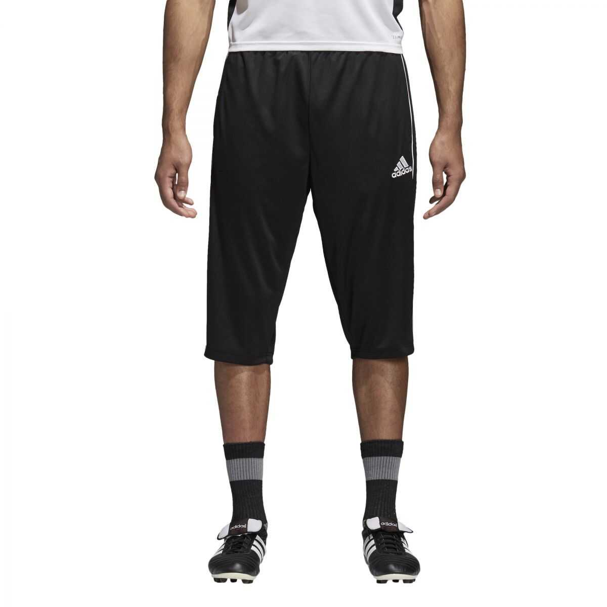 adidas CORE18 3/4 PNT BLACK/WHITE