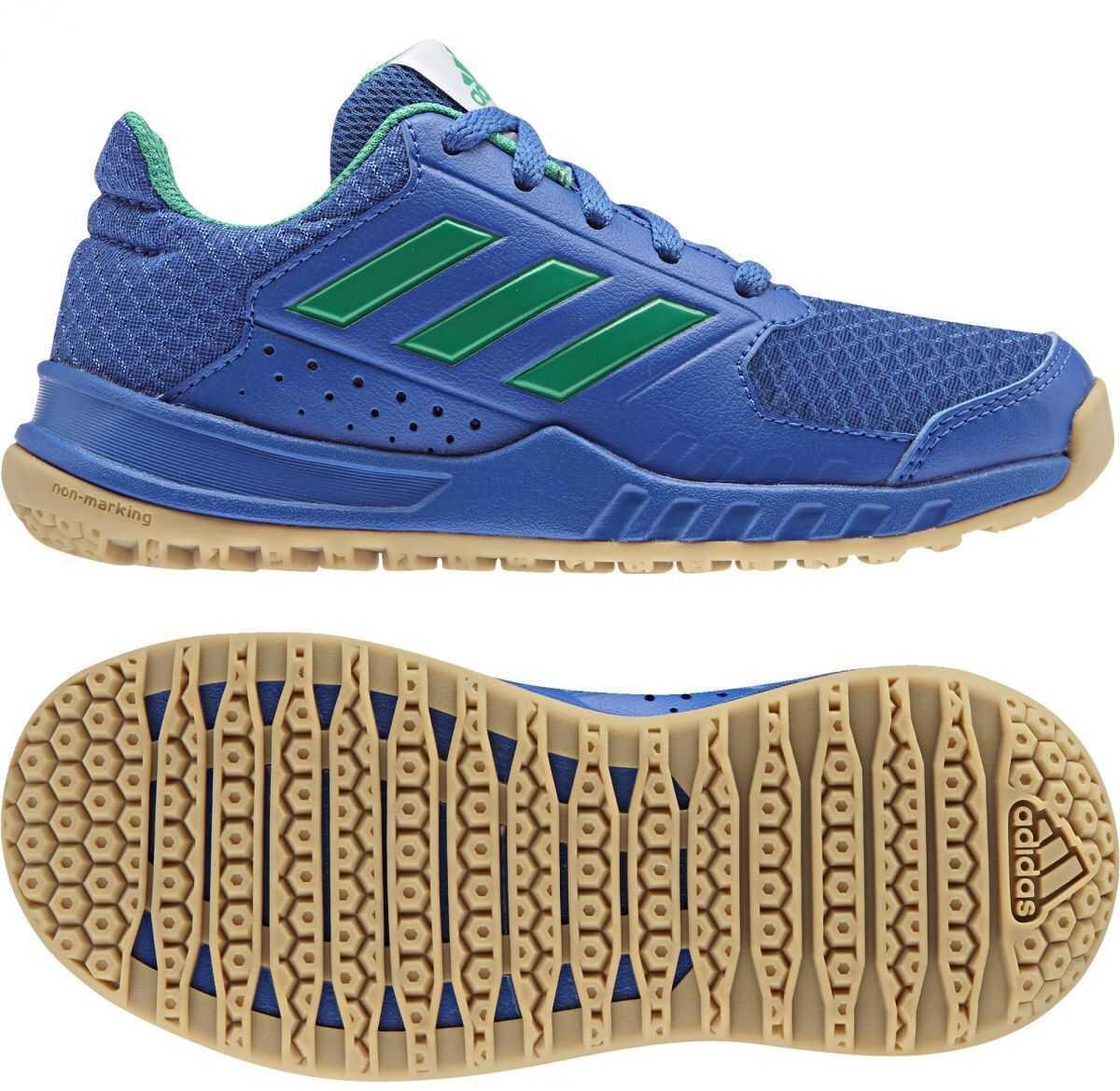 adidas FortaGym K* BLUE/CORGRN/GUM3