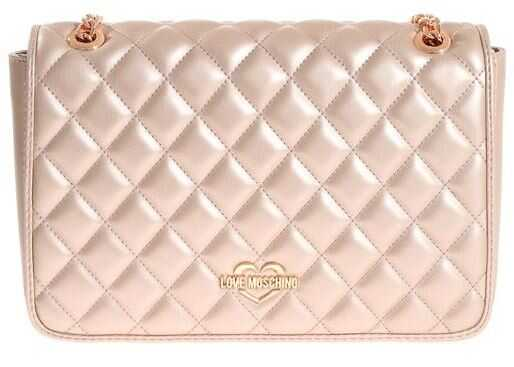 LOVE Moschino Eco-Leather Quilted Bag Pink