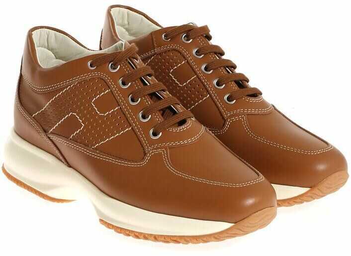 Hogan Interactive Sneakers Brown