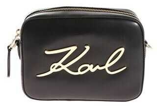 Karl Lagerfeld Signature Camera Bag Black