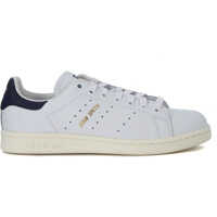 Tenisi & Adidasi Adidas Originals Stan Smith White And Blue Leather Sneakers