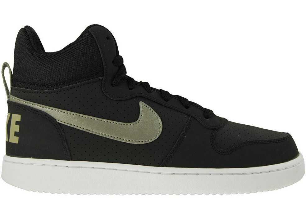Nike Court Borough Mid White,Black