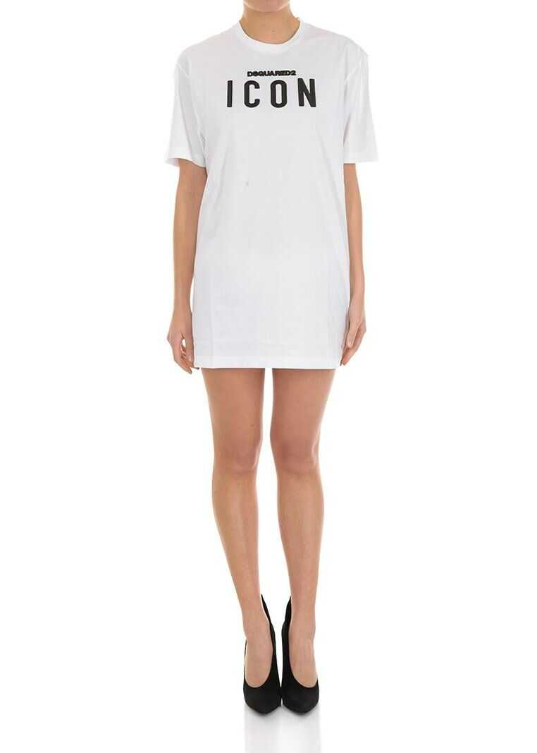 DSQUARED2 Icon Dress White