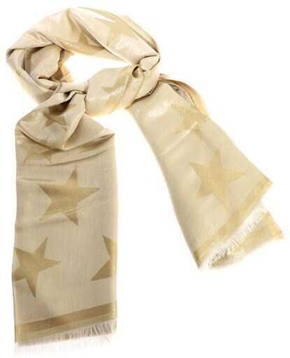 adidas by Stella McCartney Stars Pattern Scarf Gold