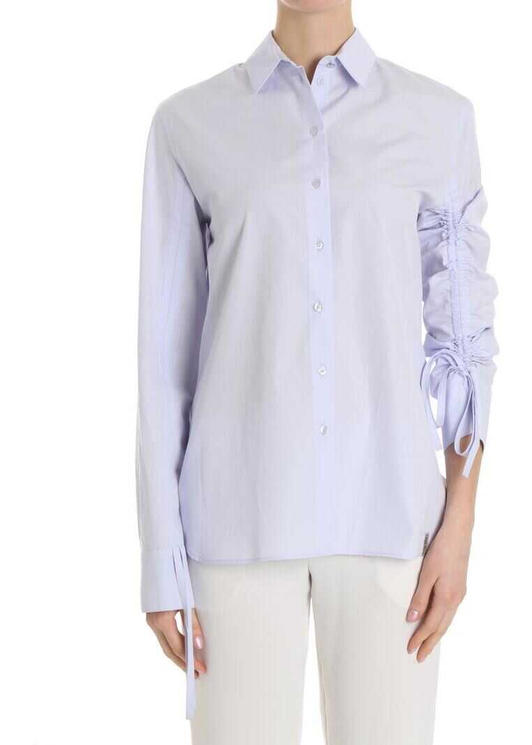 Kenzo Shirt With Drawstring Purple