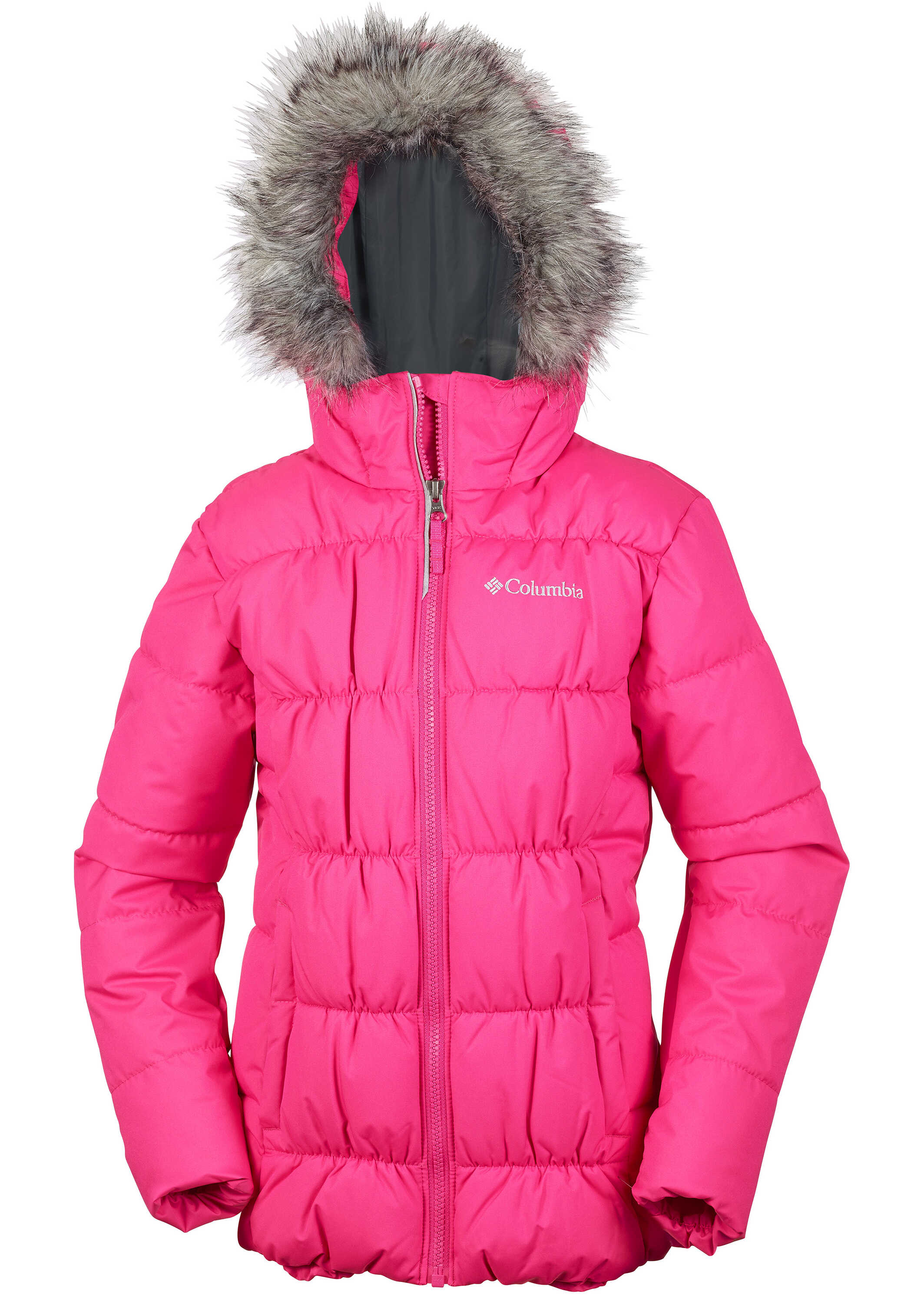 Columbia GYROSLOPE™ JACKET-Punch Pink Punch Pink