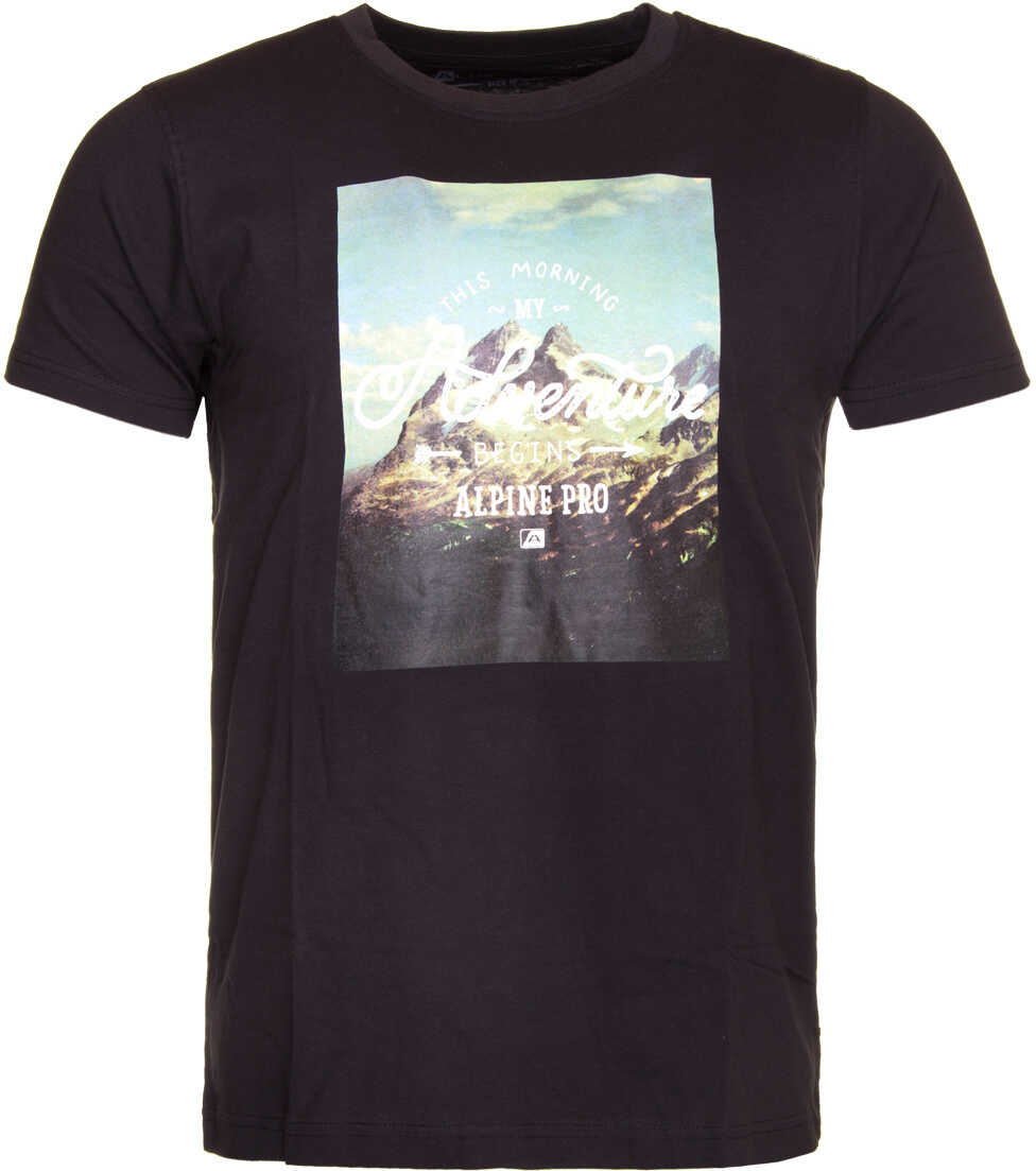 Alpine Pro ABIC 3 T-shirt-Black Black