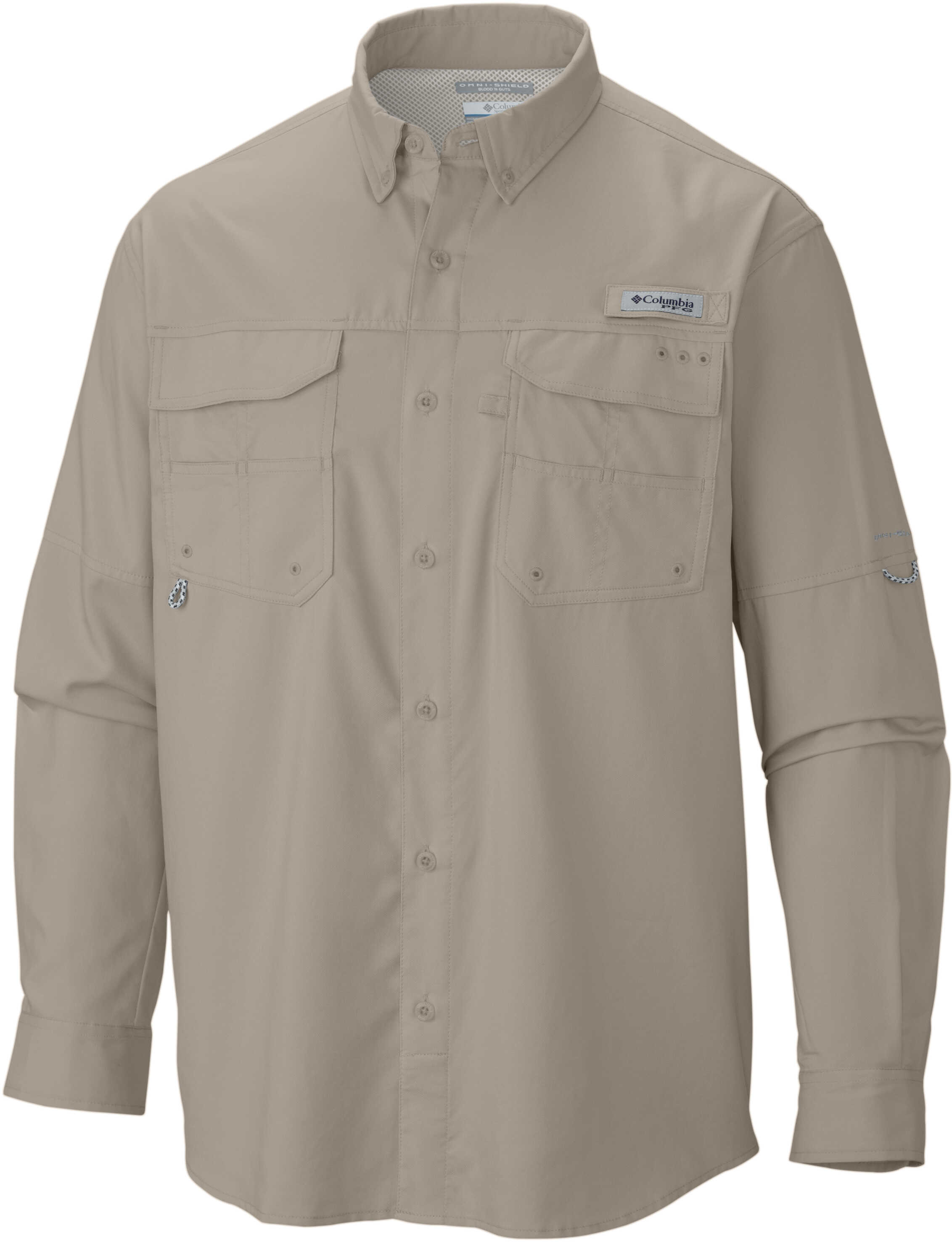Columbia Blood and Guts ™ III LS Woven Shirt-Fossil Fossil