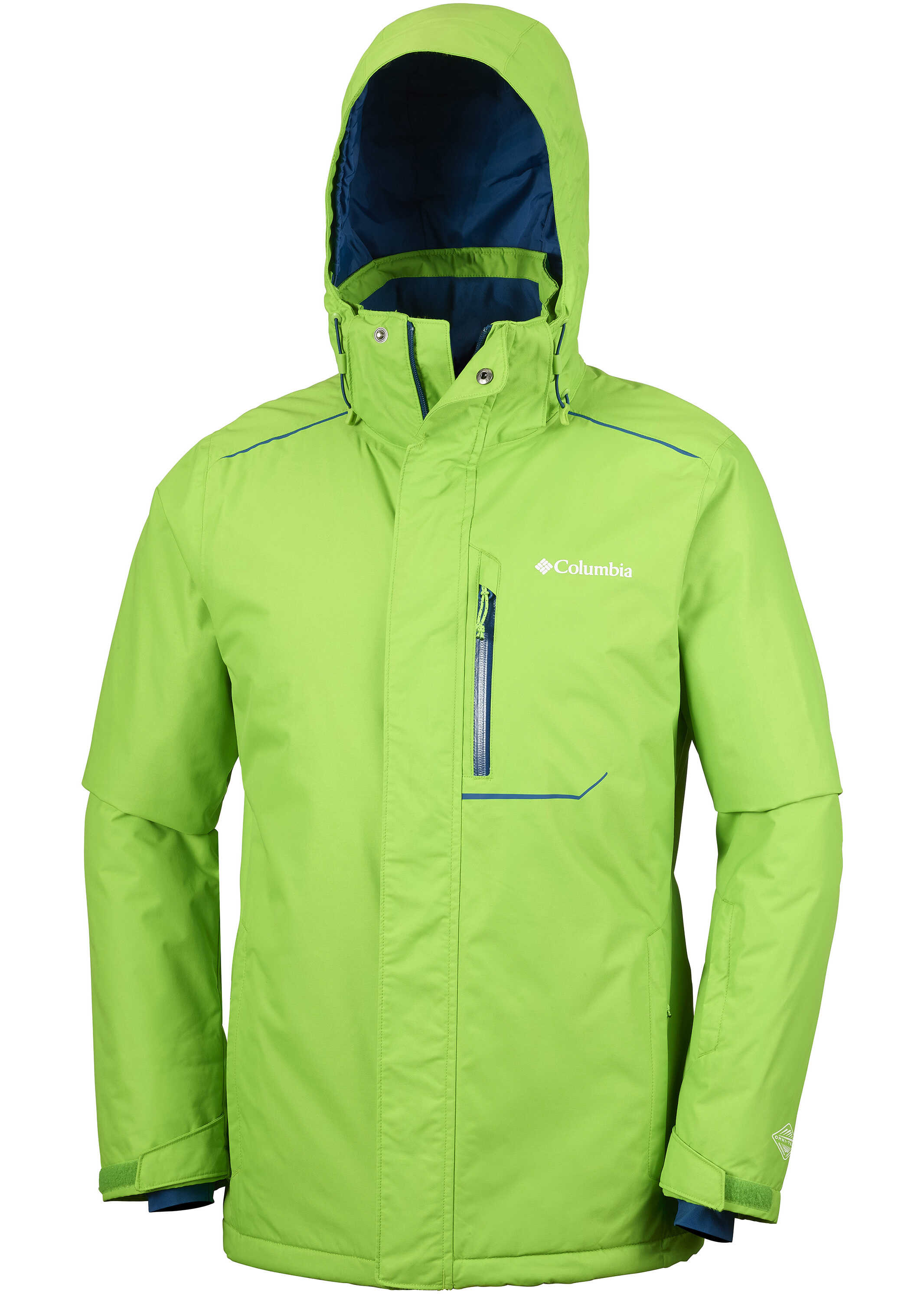 Columbia RIDE ON JACKET-CYBER GREEN/PHONIX BLUE CYBER GREEN/PHONIX BLUE