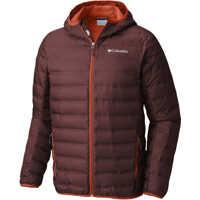Geci de iarna Lake 22 Down Hooded Jacket-Deep Rust/Hot Pepper Barbati