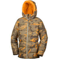Geci The Big Puff Jacket-Sage Woodsy Camo Baieti