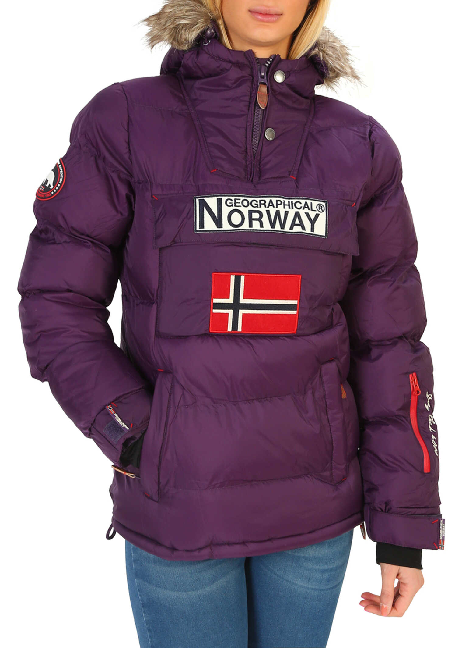 Geographical Norway Anson_Woman Violet