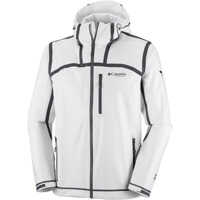 Jachete OutDry Ex Stretch Hooded Shell-White Barbati