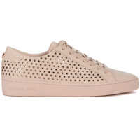 Tenisi & Adidasi Michael Kors Irving Pink Leather Sneaker With Micro Stars
