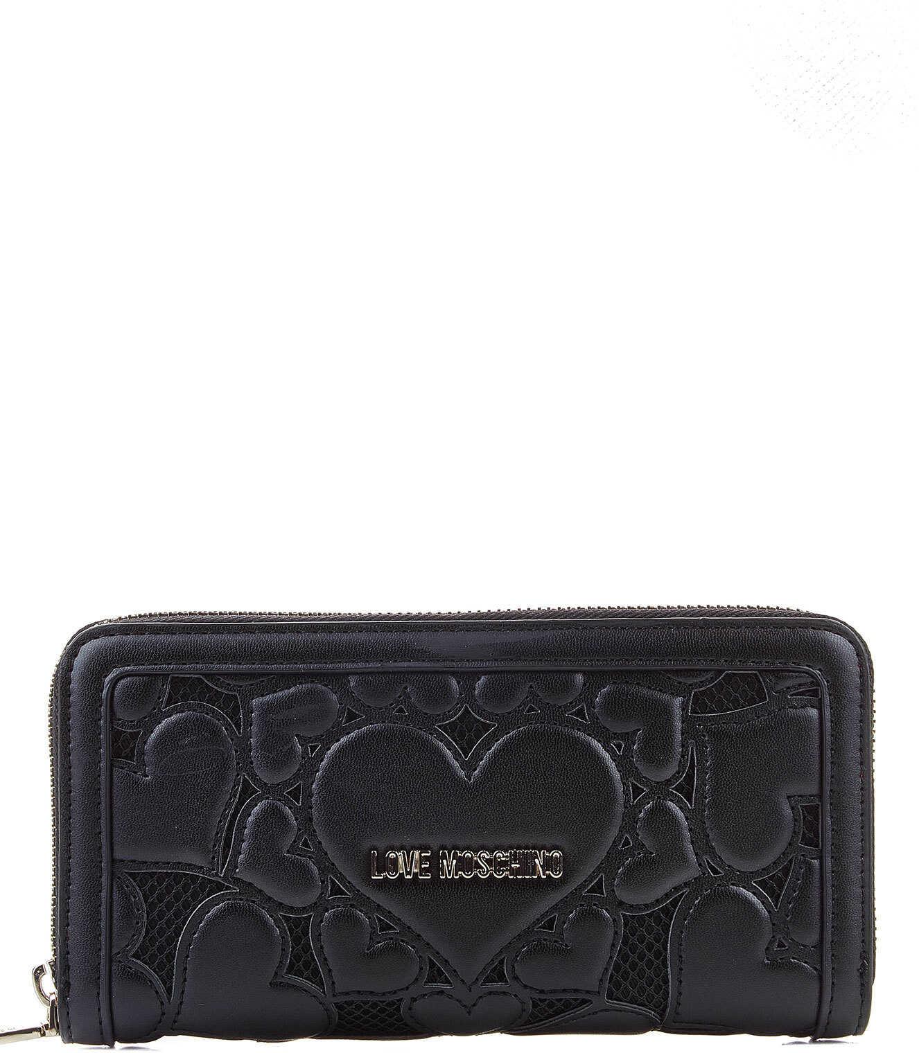 LOVE Moschino Portemonnaie Black