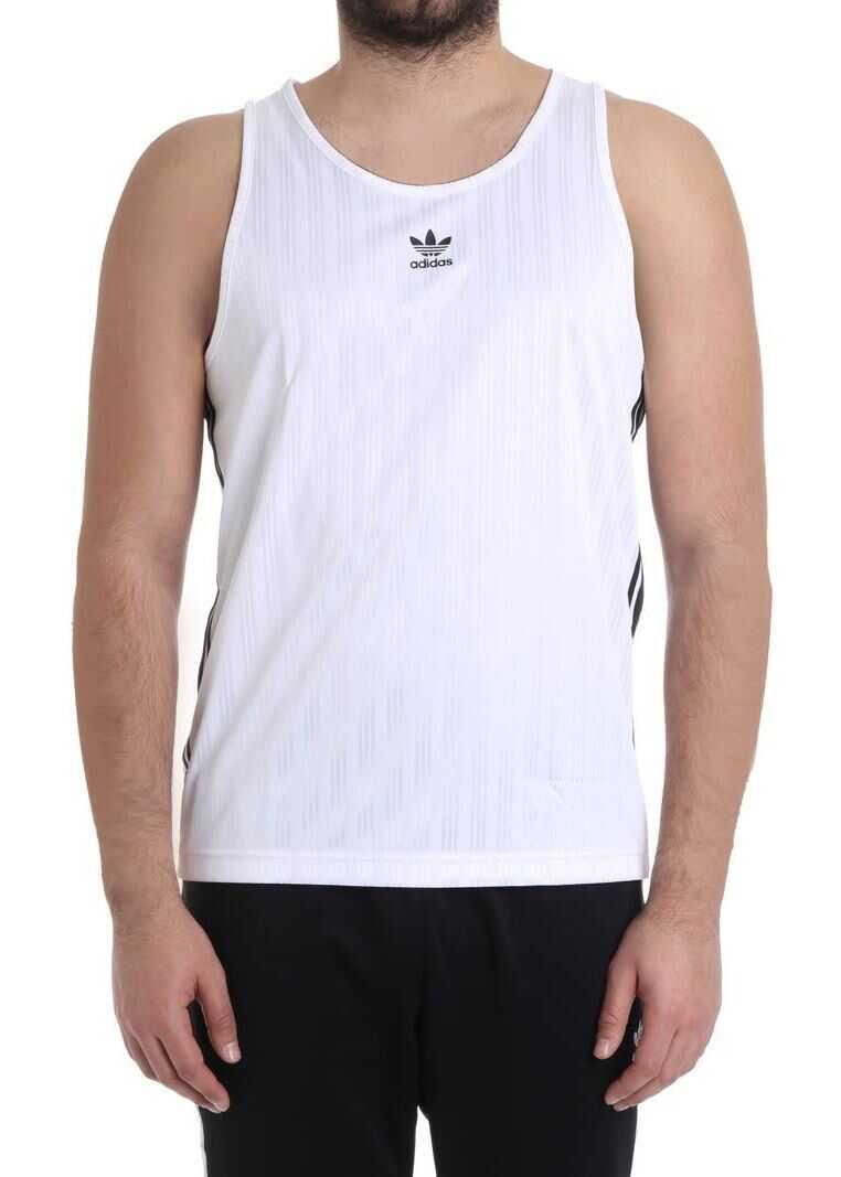 adidas Originals Football Tank Top White