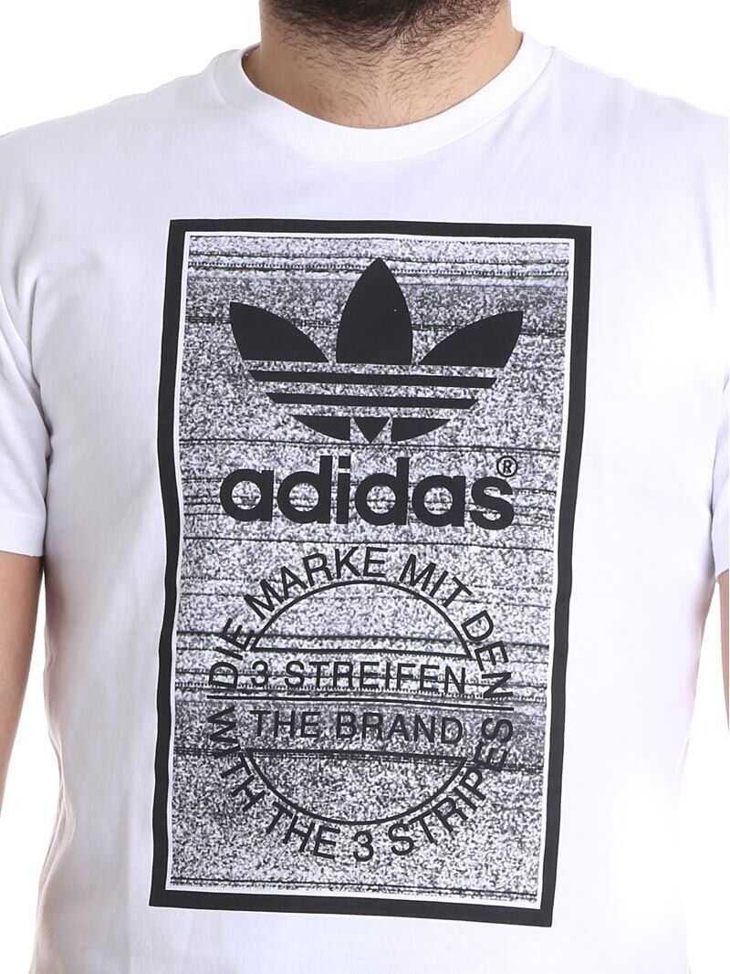 adidas Originals Traction Tongue T-Shirt White