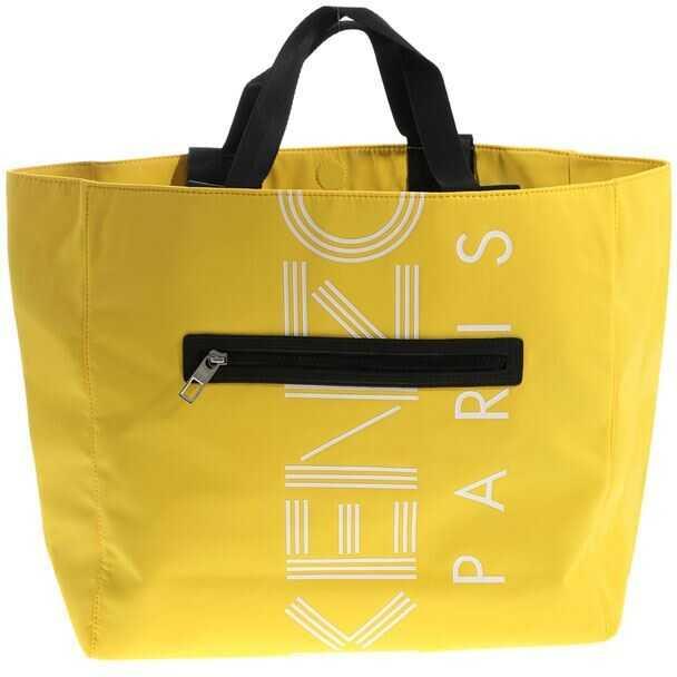 Kenzo Logo Tote Bag Yellow