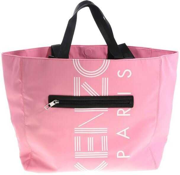 Kenzo Logo Tote Bag Pink