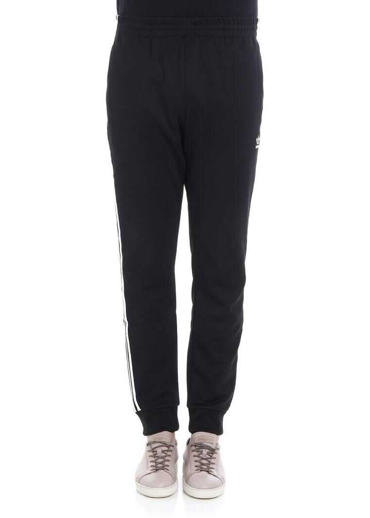adidas Adidas Originals Sst Pants In Black Black