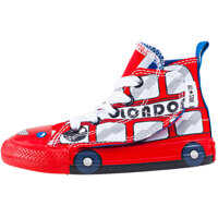 Tenisi & Adidasi Chuck Taylor All Star Simple Step Hi Toddler Trainers In White Red Baieti