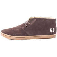 Ghete & Cizme Byron Mid Chukka Boots In Dark Chocolate Barbati
