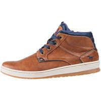 Ghete & Cizme Side Zip Sneaker Kastanie Chukka Boots In Chestnut Barbati