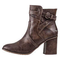 Ghete & Cizme Heeled Ankle Boot Ankle Boots In Brown Femei