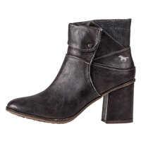Ghete & Cizme Heeled Ankle Boots In Dark Brown Femei