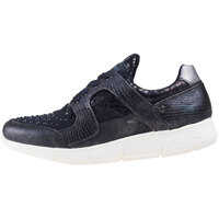 Tenisi & Adidasi Low Top Metallic Studs Trainers In Black Femei