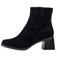 Ghete & Cizme Twins High Ankle Boots In Black Brown Femei