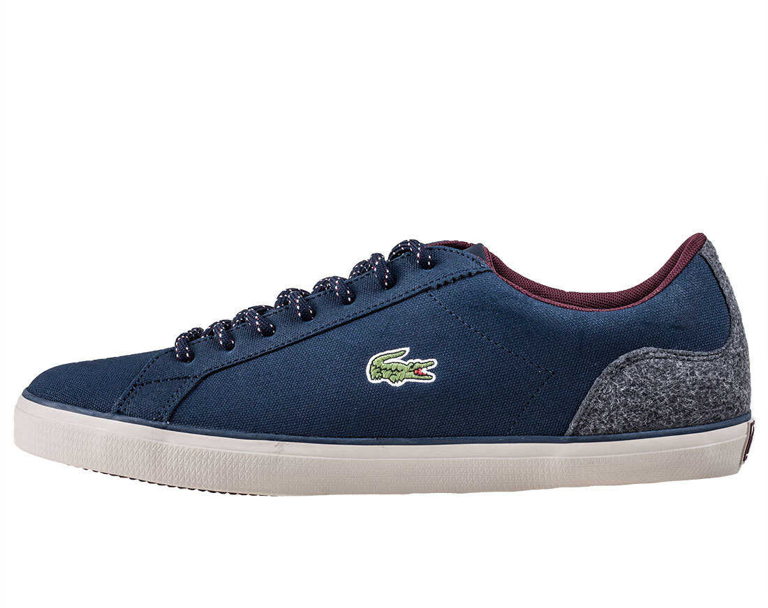 Lacoste Lerond 417 Trainers In Navy Blue