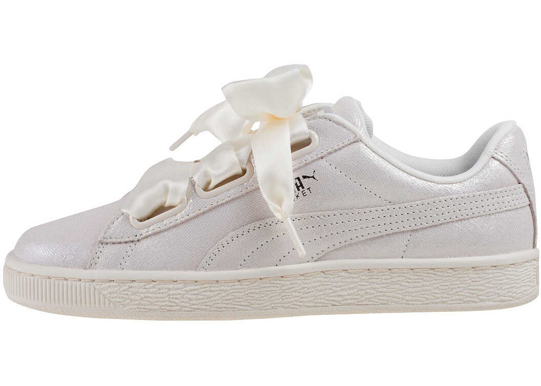PUMA Basket Heart Ns Trainers In White thumbnail