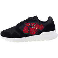 Sneakers Omega X Embroidery Trainers In Black Red Femei