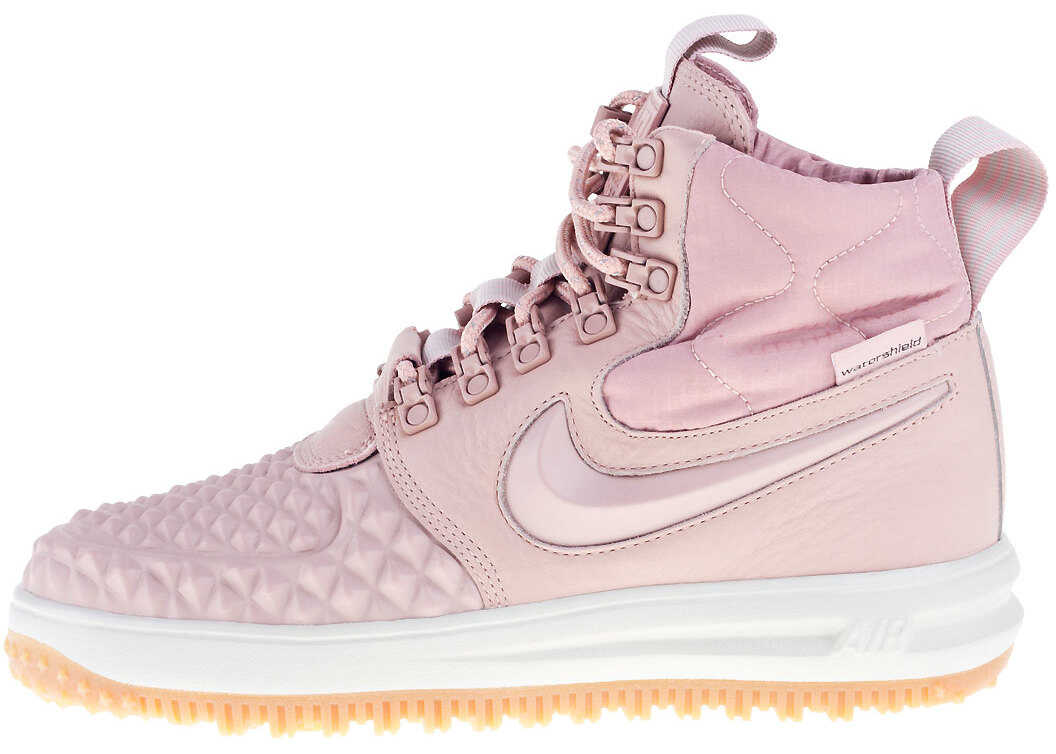 Nike Lunar Force 1 Duckboot Boots In Blush Pink Pink