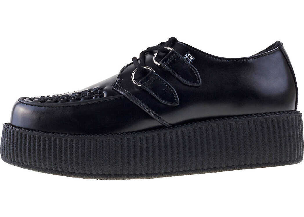 TUK T.u.k Viva Hi Sole Creeper Unisex Shoes In Black Black
