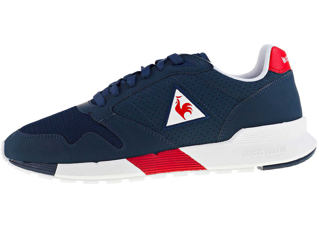 Le Coq Sportif Omega X Sport Trainers In Dress Blue thumbnail