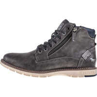 Ghete Lace Up Boot Chukka Boots In Dark Grey Barbati