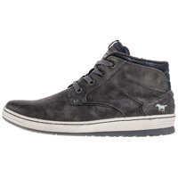Ghete & Cizme Side Zip Sneaker Chukka Boots In Dark Grey Barbati